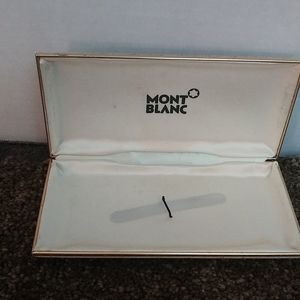 """Vintage Montblanc Case """"as is"""""""